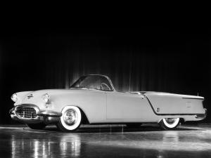 Oldsmobile Starfire Convertible Concept Car 1953 года